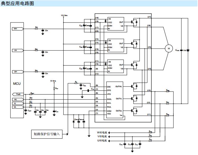 点击上面相应的名称链接,可进入相应的具体产品详细介召页面。 SD20M60AC应用范围产品及就用场合: SD20M60AC可应用于空调室内/外机 SD20M60AC可应用于冰箱压缩机 SD20M60AC可应用于油烟机 SD20M60AC可应用于风扇 SD20M60AC可应用于空气净化器 SD20M60AC可应用于洗碗机水泵 SD20M60AC产品规格分类:  SD20M60AC内部框图:  SD20M60AC极限参数:   SD20M60AC推荐工作条件:  SD20M60AC电气参数:    SD20M