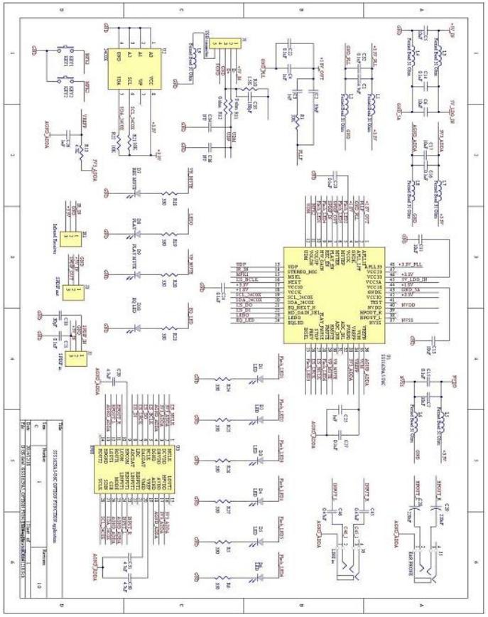 SSS1629A5添加功能的参考应用电路