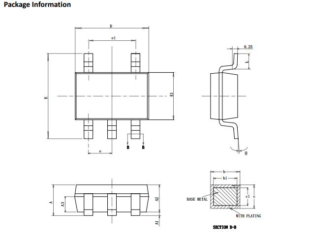 CW3002F封装尺寸图