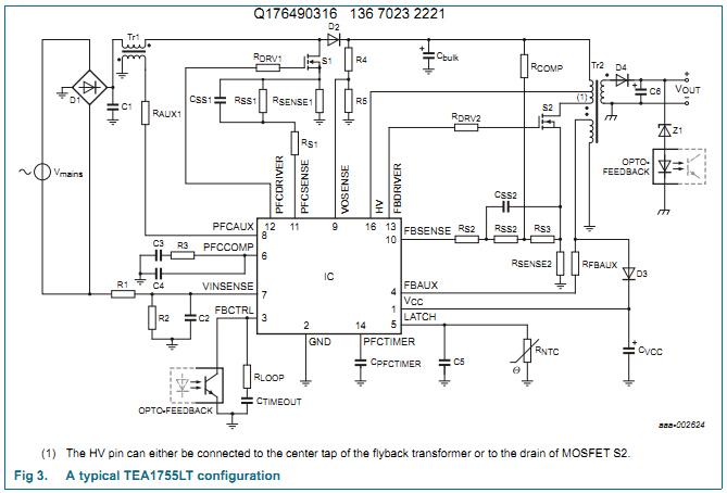 tea1723f电路图