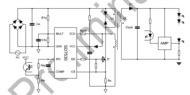 str-m6511 管脚电路图